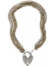 Fossil JA4726998 Damer PVD guldpläterat halsband