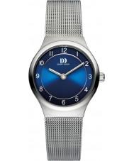Danish Design V69Q1072 Damer silver armeringsnät armband klocka