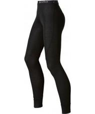 Odlo Ladies trend svart långa john baselayer byxor