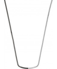 Emporio Armani EGS2128040 Mens sammansättning två ton stål halsband