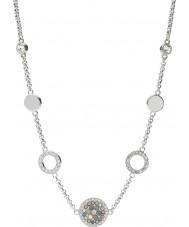 Fossil JF02312040 Damer vintage glitter silver stål halsband