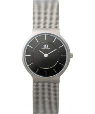 Danish Design Q63Q732 Mens silver armeringsnät armband klocka