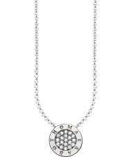 Thomas Sabo KE1493-051-14-L45v Damer silver signatur klassiska zirkoniumoxid bana halsband